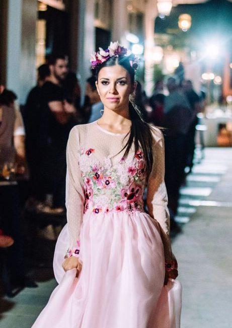 Fashion show 2017 φορέματα νυφικά υψηλης ραπτικής